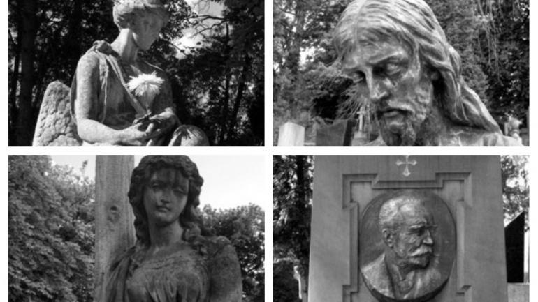 wystawa zdjęcia cmentarz