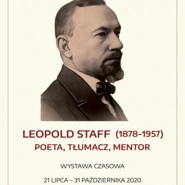 Leopold Staff – Poeta, tłumacz, mnetor