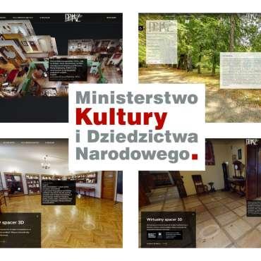 Wirtualne spacery po Muzeum Marii Konopnickiej w Żarnowcu